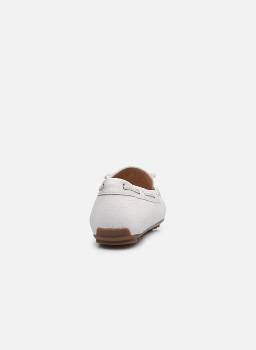 Chaussures à lacets Geox D LEELYAN D724RA Blanc vue droite