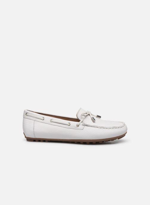 Chaussures à lacets Geox D LEELYAN D724RA Blanc vue derrière