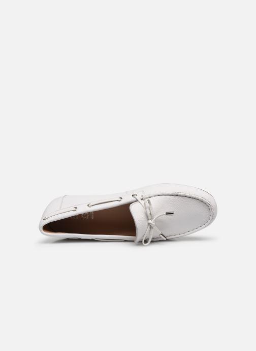 Chaussures à lacets Geox D LEELYAN D724RA Blanc vue gauche