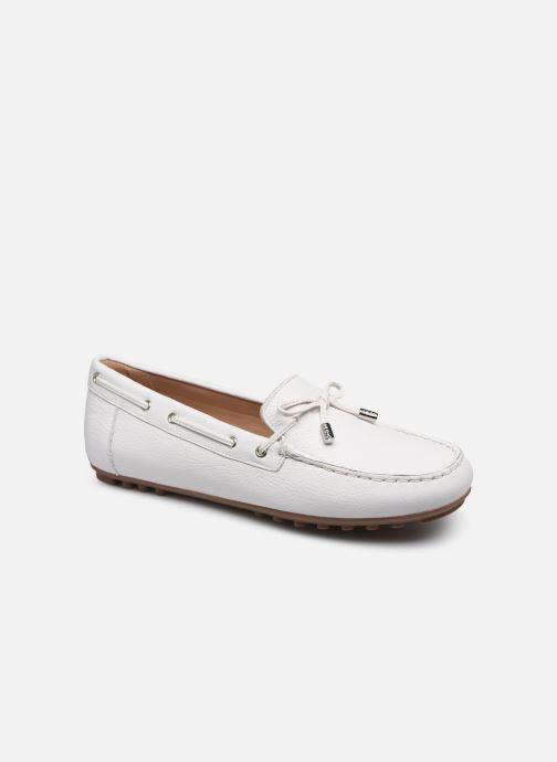 Chaussures à lacets Geox D LEELYAN D724RA Blanc vue détail/paire