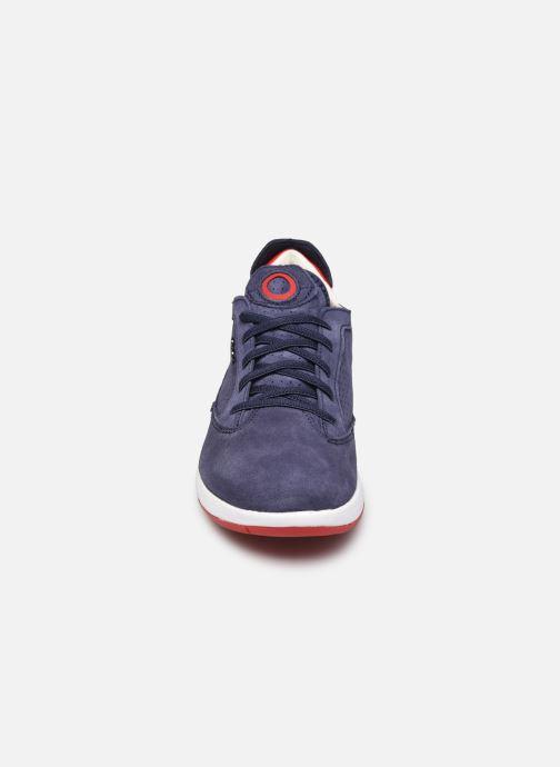 Baskets Geox D AERANTIS D02HNA00022 Bleu vue portées chaussures