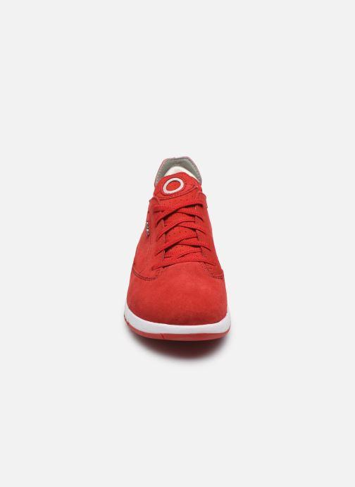 Baskets Geox D AERANTIS D02HNA00022 Rouge vue portées chaussures