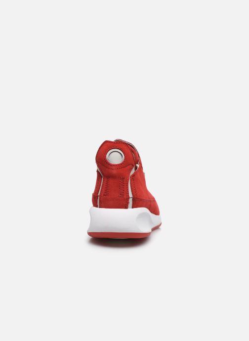 Baskets Geox D AERANTIS D02HNA00022 Rouge vue droite