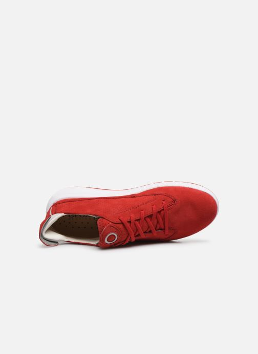 Baskets Geox D AERANTIS D02HNA00022 Rouge vue gauche
