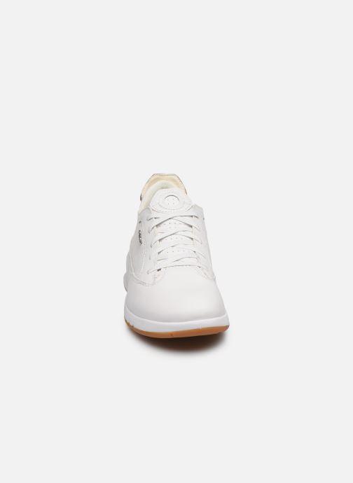 Baskets Geox D AERANTIS D02HNA00085 Blanc vue portées chaussures