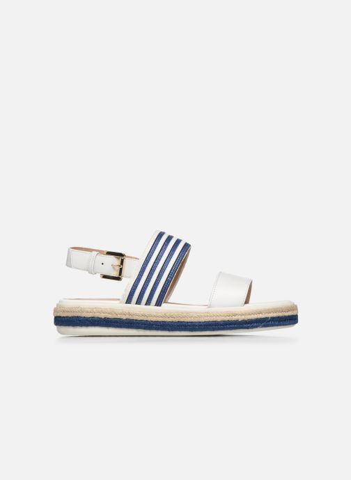 Sandales et nu-pieds Geox D SANDAL LEELU' D02GFE Blanc vue derrière
