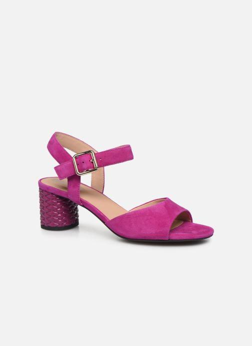 Sandales et nu-pieds Geox D ORTENSIA MID SANDA D02GNC Rose vue détail/paire