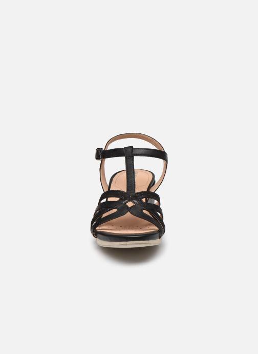 Sandalen Geox D ISCHIA D02GTG schwarz schuhe getragen