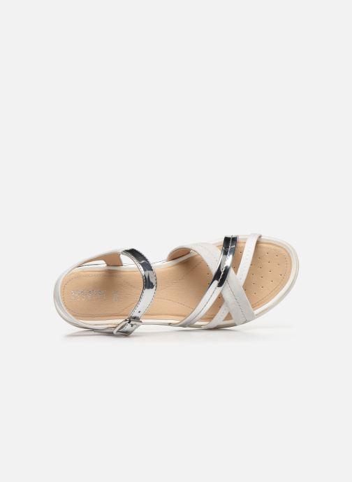 Sandales et nu-pieds Geox D SANDAL HIVER D02GZA Argent vue gauche