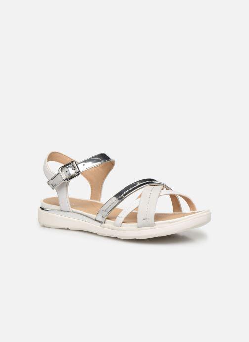 Sandales et nu-pieds Geox D SANDAL HIVER D02GZA Argent vue détail/paire