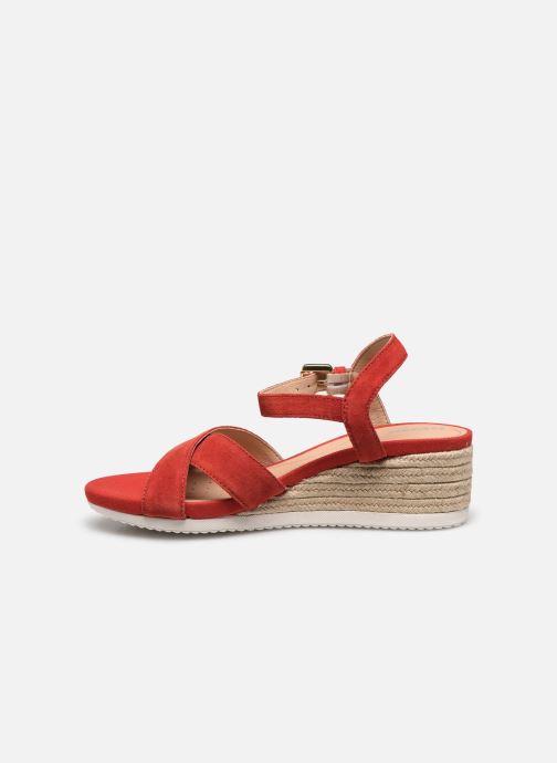 Geox D ISCHIA CORDA D02HHC (Rouge) - Sandales et nu-pieds chez Sarenza (428040)