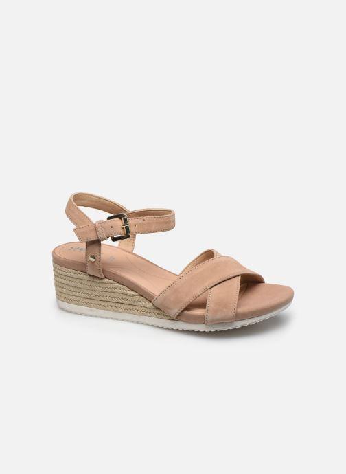 Sandales et nu-pieds Geox D ISCHIA CORDA D02HHC Beige vue détail/paire