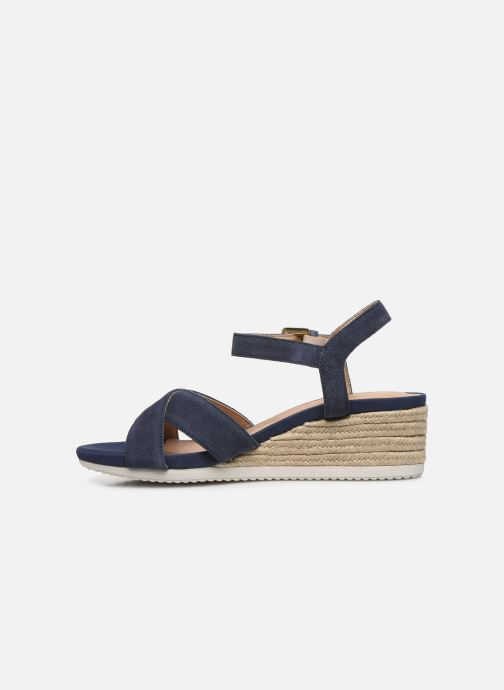 Sandales et nu-pieds Geox D ISCHIA CORDA D02HHC Bleu vue face