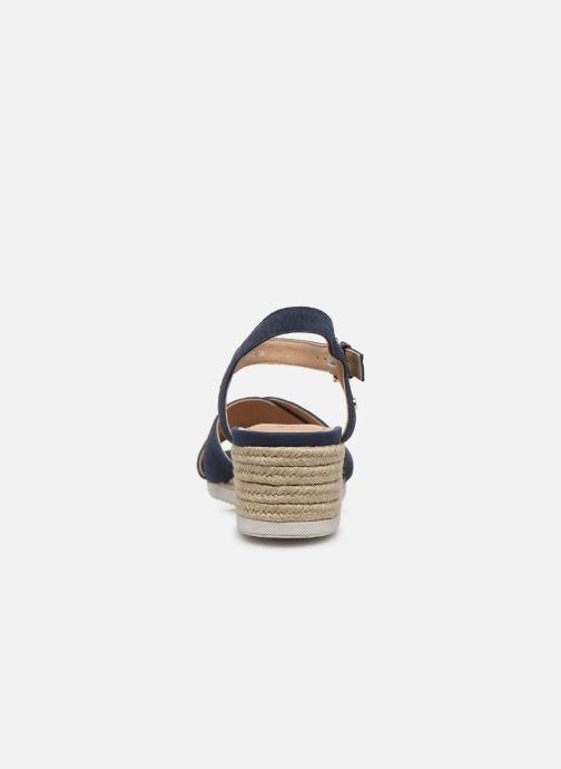 Sandales et nu-pieds Geox D ISCHIA CORDA D02HHC Bleu vue droite