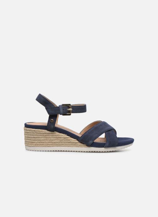 Sandales et nu-pieds Geox D ISCHIA CORDA D02HHC Bleu vue derrière
