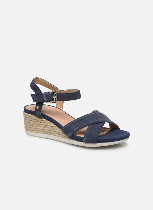 Sandales et nu-pieds Geox D ISCHIA CORDA D02HHC Bleu vue détail/paire