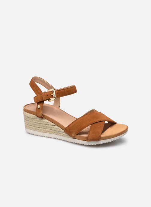 Sandales et nu-pieds Geox D ISCHIA CORDA D02HHC Marron vue détail/paire