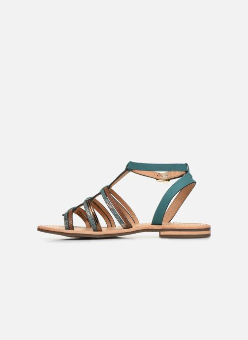 Sandales et nu-pieds Geox D SOZY D022CE Vert vue face