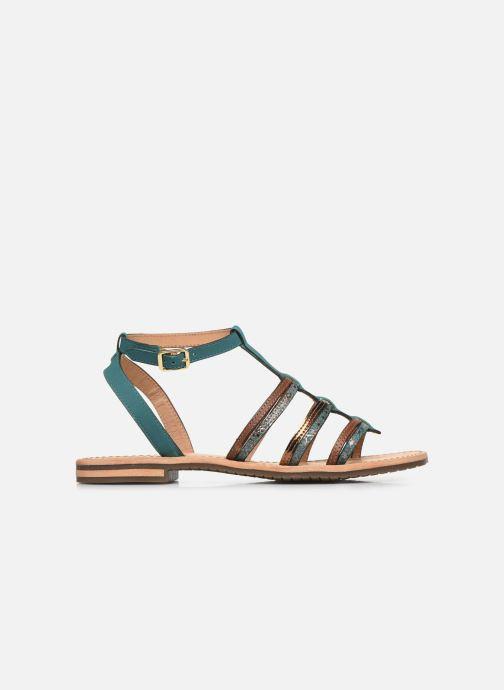 Sandales et nu-pieds Geox D SOZY D022CE Vert vue derrière