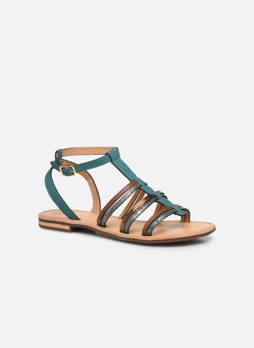 Sandales et nu-pieds Geox D SOZY D022CE Vert vue détail/paire