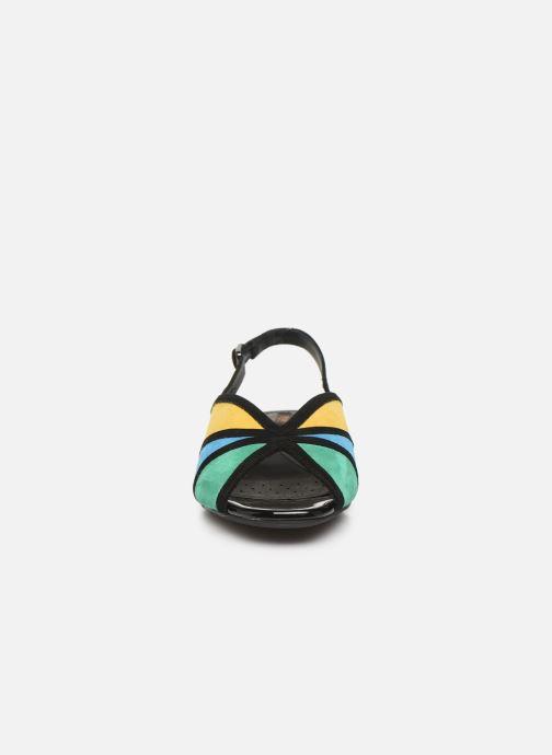 Escarpins Geox D WISTREY SANDALO D024HB Multicolore vue portées chaussures