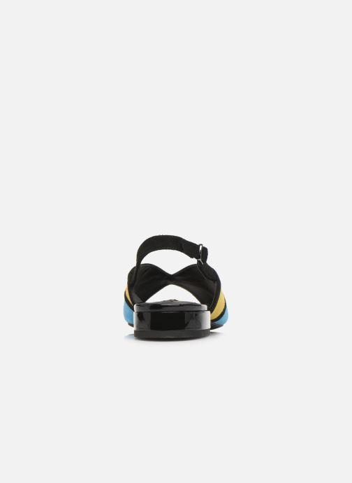 Zapatos de tacón Geox D WISTREY SANDALO D024HB Multicolor vista lateral derecha