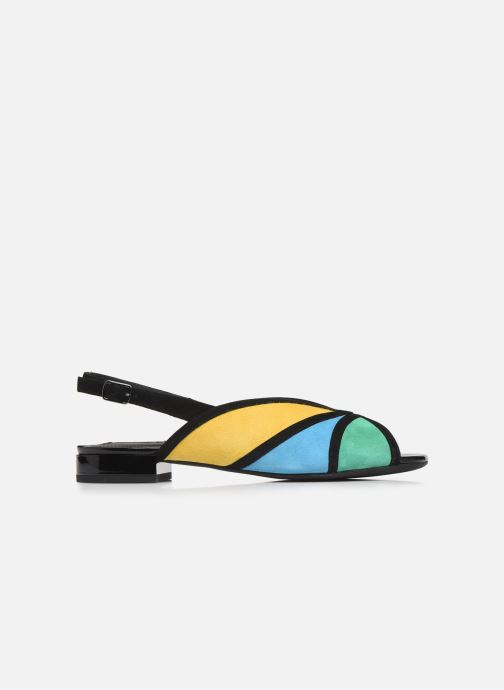 Zapatos de tacón Geox D WISTREY SANDALO D024HB Multicolor vistra trasera