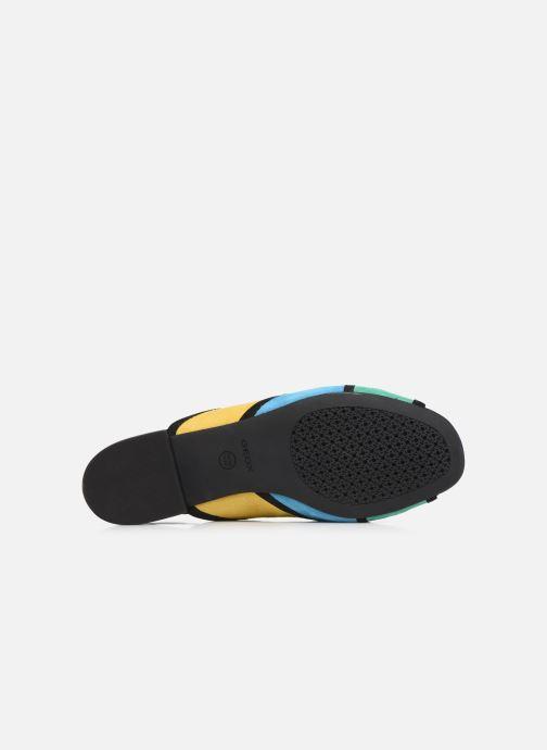 Zapatos de tacón Geox D WISTREY SANDALO D024HB Multicolor vista de arriba
