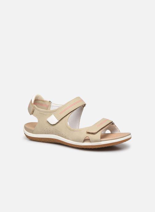 Sandales et nu-pieds Geox D SANDAL VEGA D52R6A Beige vue détail/paire