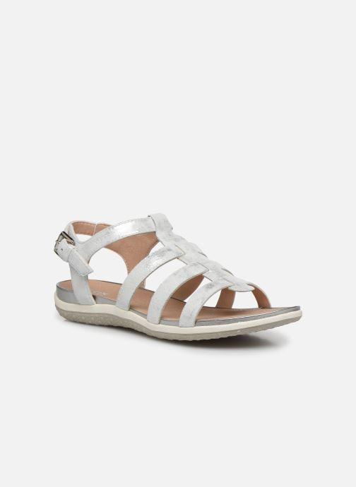 Sandales et nu-pieds Geox D SANDAL VEGA D72R6A Argent vue détail/paire