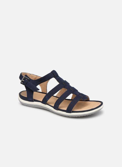 Sandales et nu-pieds Geox D SANDAL VEGA D72R6A Bleu vue détail/paire