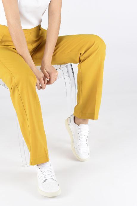 Sneaker Puma Ralph Sampson Lo Perf Soft W weiß ansicht von unten / tasche getragen