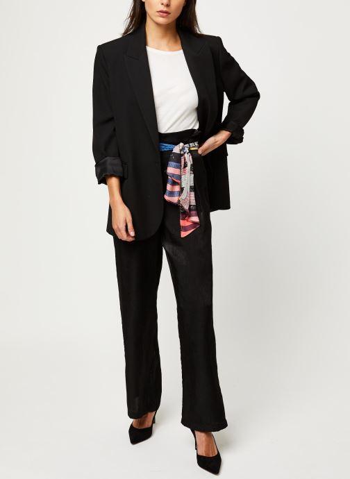 Vêtements Vila Vidra Hw Pant /Rx Noir vue bas / vue portée sac