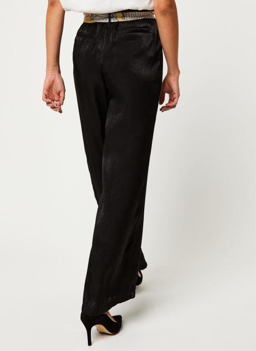 Vêtements Vila Vidra Hw Pant /Rx Noir vue portées chaussures