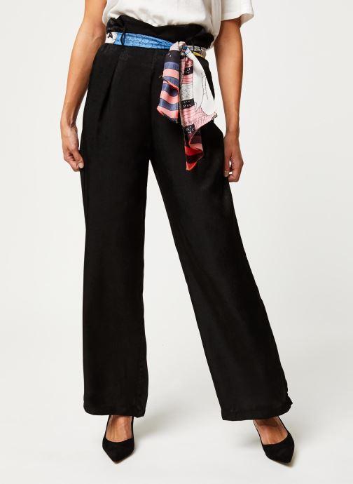 Vêtements Vila Vidra Hw Pant /Rx Noir vue détail/paire
