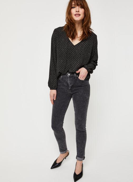 Vêtements Vila Vielina L/S Top /Rx Noir vue bas / vue portée sac