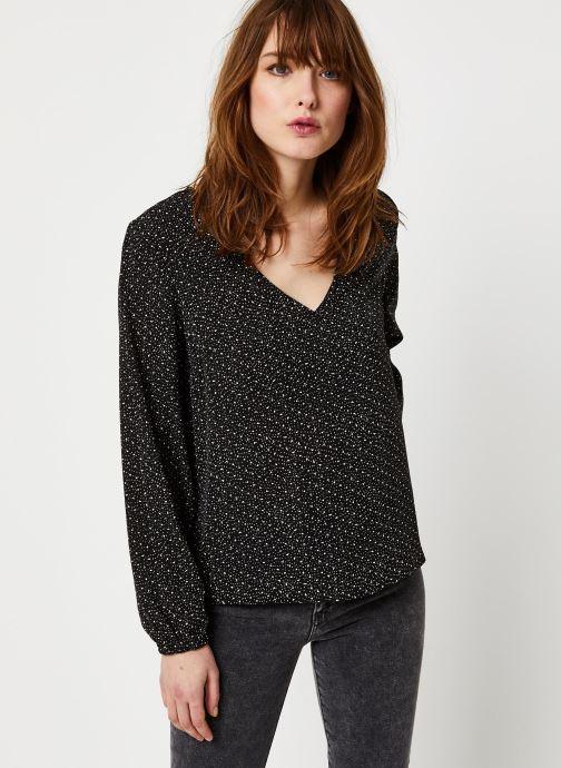 Vêtements Vila Vielina L/S Top /Rx Noir vue droite