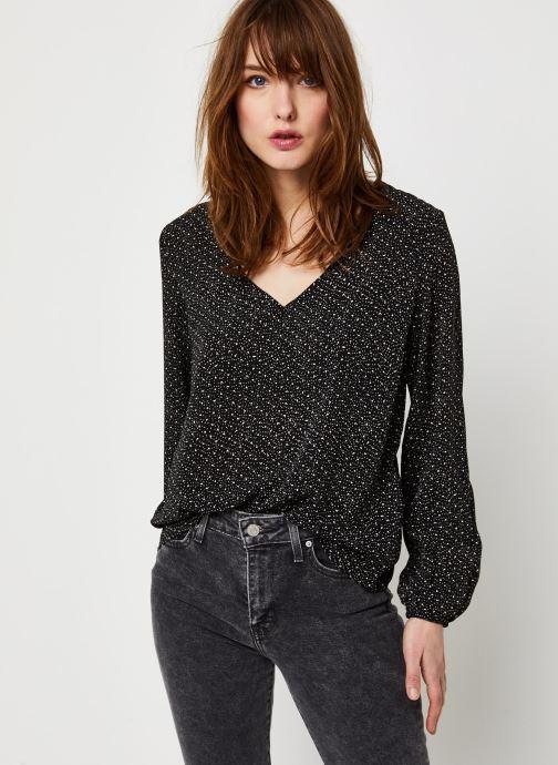 Vêtements Vila Vielina L/S Top /Rx Noir vue détail/paire