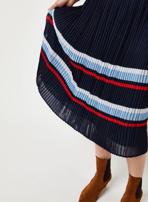 Vêtements Vila Vifella Skirt /Rx Bleu vue face