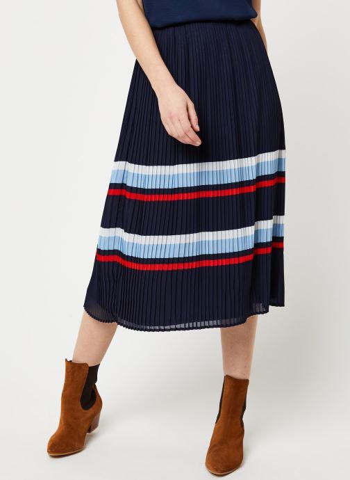 Vêtements Vila Vifella Skirt /Rx Bleu vue détail/paire