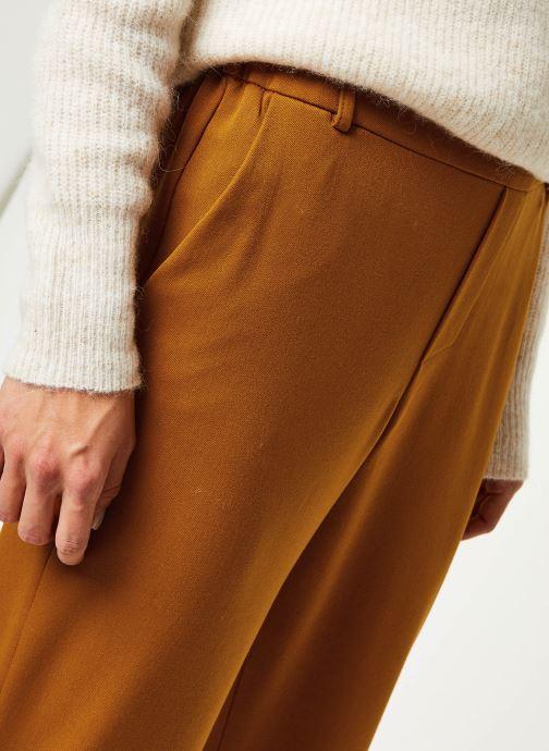 Vêtements Vila Vigoldi Pants /Rx Marron vue face