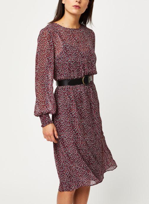 Vêtements Vila Vineo L/S Dress /Rx Bleu vue détail/paire