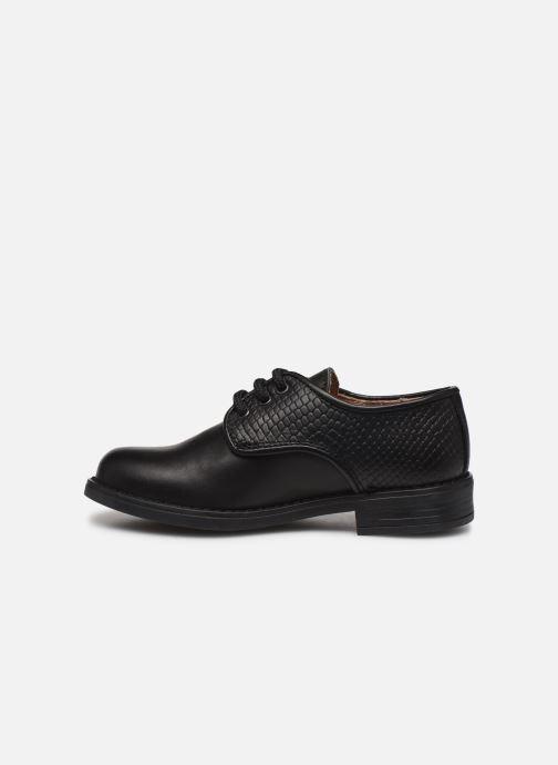 Chaussures à lacets Yep Alice Noir vue face