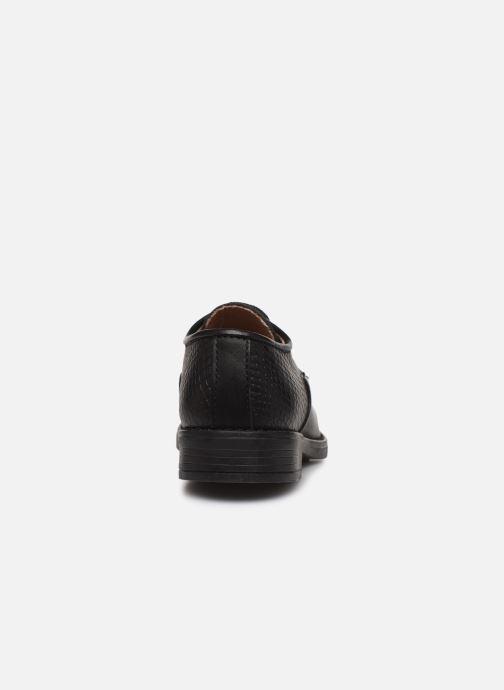 Chaussures à lacets Yep Alice Noir vue droite