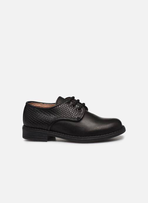 Chaussures à lacets Yep Alice Noir vue derrière