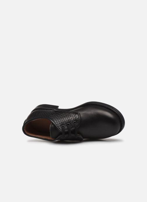 Chaussures à lacets Yep Alice Noir vue gauche