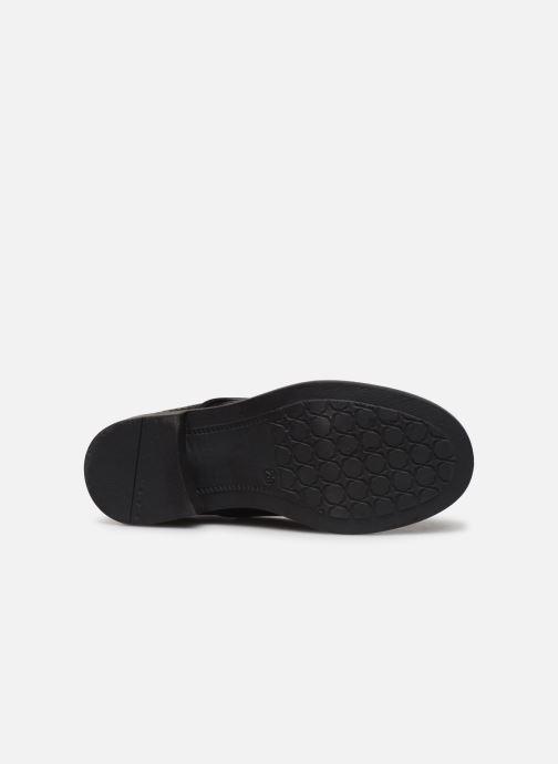 Chaussures à lacets Yep Alice Noir vue haut