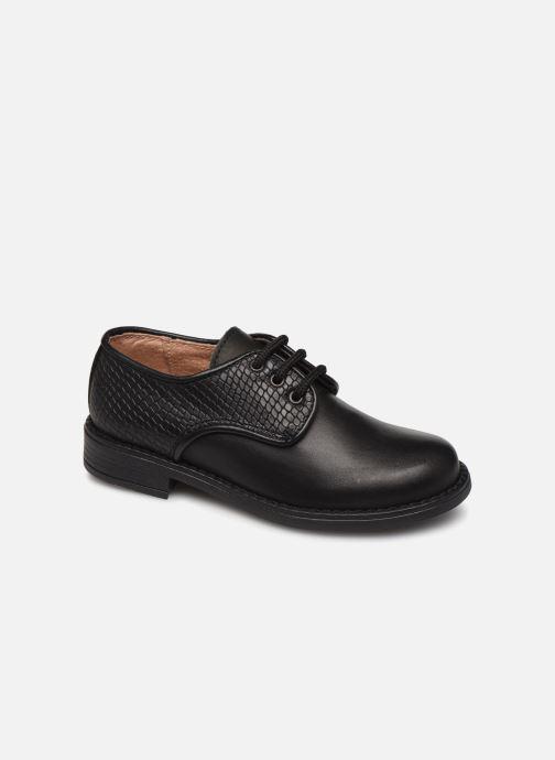 Chaussures à lacets Yep Alice Noir vue détail/paire