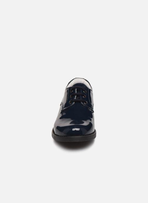 Zapatos con cordones Yep Alice2 Azul vista del modelo