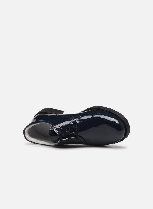 Zapatos con cordones Yep Alice2 Azul vista lateral izquierda